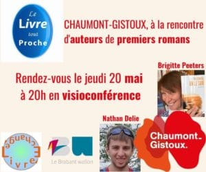 affiche du livre-échange avec Brigitte Peeters