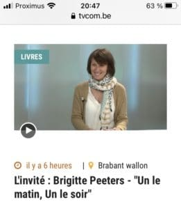 Interview TVCOM Brigitte Peeters